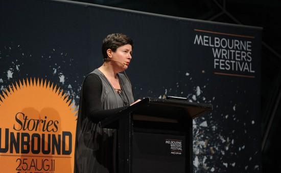 Photo: Carla Gottgens. Courtesy of Melbourne Writers Festival