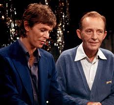 Bing Crosby and David Bowie