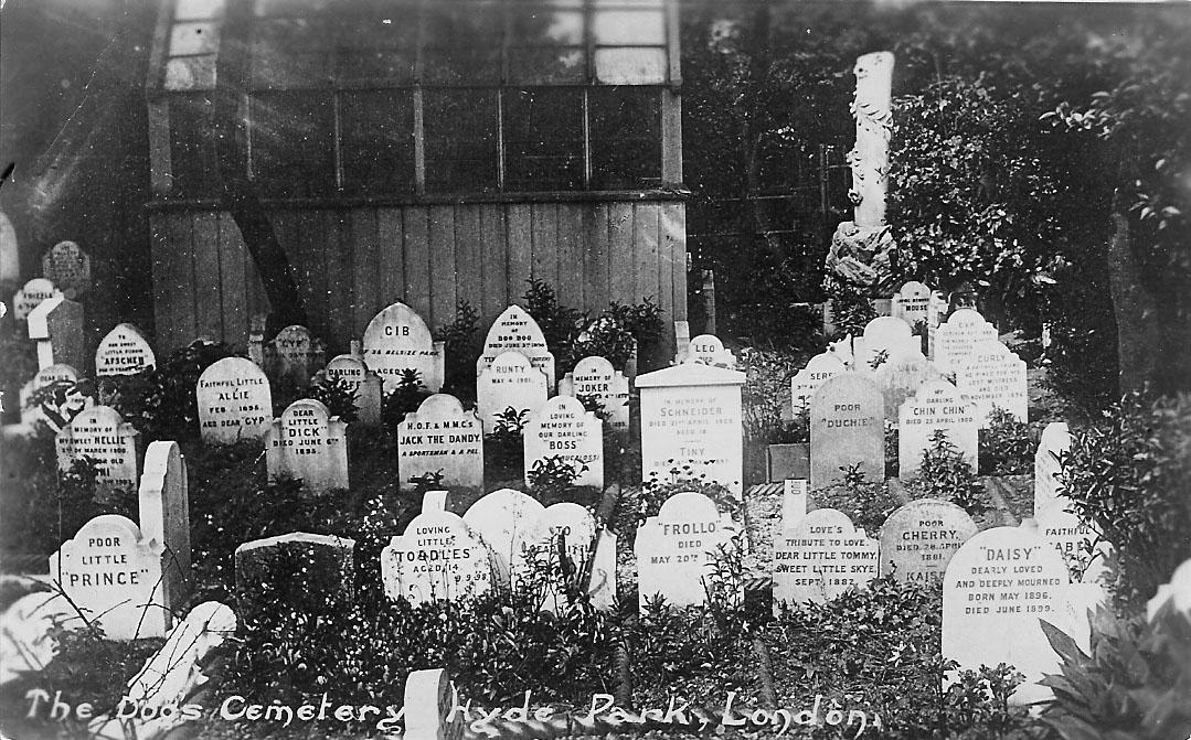 Jessica Miller_Hyde Park's Dog Cemetery_Leonard Bently