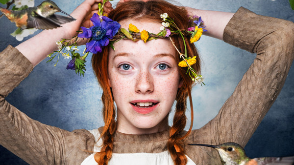 Amybeth McNulty in Anne with an E. Image: © Netflix