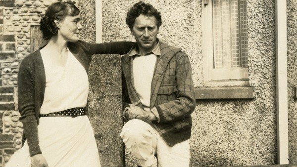 Percy and Ella Grainger at Pevensey. Image: courtesy Percy Grainger Museum. Library catalogue permalink: https://cat.lib.unimelb.edu.au/record=